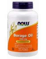 NOW FOODS Borage Oil 1000mg 120 kaps.