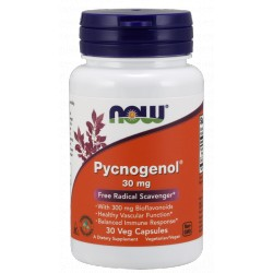 NOW FOODS Pycnogenol 30 mg 30 weg.kaps