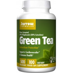 JARROW FORMULAS Green Tea 500mg 100 weg.kaps.