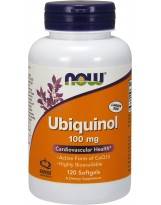 NOW FOODS Ubiquinol 100 mg 120 gels.