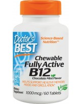 Doctors Best Fully Active B-12 1000mcg 60 tab.do żucia