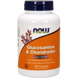NOW Foods Glucosamine & Chondroitin - 120 kaps.