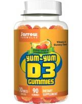 JARROW FORMULAS Yum-Yum D3 Gummies 90 żelek