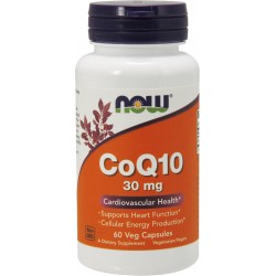 NOW Foods CoQ10 30 mg 60 capsules