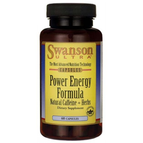SWANSON Power Energy Formula 60 kaps.