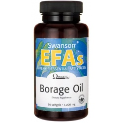 SWANSON Borage Oil 60 kaps