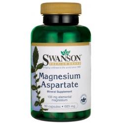 SWANSON Magnesium Aspartate 685mg 90 kaps.