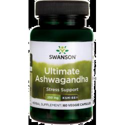 SWANSON Ashwagandha KSM-66 60 kaps.