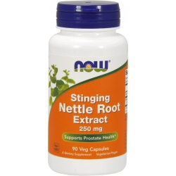 NOW FOODS Nettle Root Extract 250mg 90 vcaps.