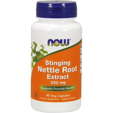 NOW FOODS Nettle Root Extract 250mg 90 weg.kaps.