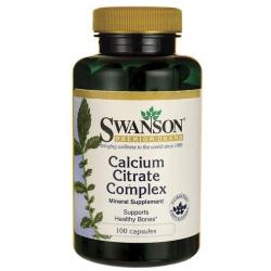 SWANSON Calcium Citrate Complex 100 kaps.