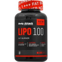 BODY ATTACK Lipo 100 120 kaps.