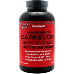 MUSCLE MEDS Carnivor Beef Amino 300 tabl.