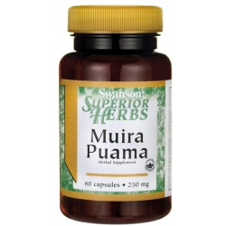 SWANSON Muira Puama Extract (10:1) 250mg 60 kaps.
