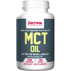 JARROW FORMULAS MCT Oil 1000mg 180 gels.