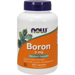 NOW FOODS Boron 3mg 250 kaps.