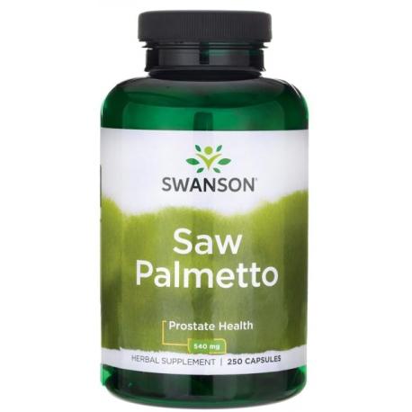 SWANSON Saw Palmetto 540mg 250 kaps.