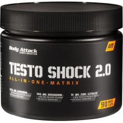 BODY ATTACK Testo Shock 2.0 90 kaps.
