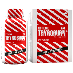 FITNESS AUTHORITY Xtreme Thyroburn 120 kaps.