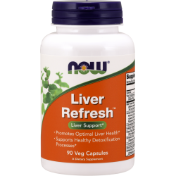 NOW FOODS Liver Refresh 90 weg.kaps.
