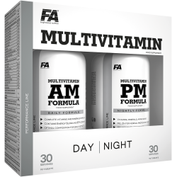 FITNESS AUTHORITY Multivitamin AM+PM 180 tabl. (12/2018)