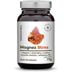 AURA HERBALS Magnez Stres 90 tab.