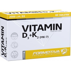 FORMOTIVA Witamina D3+K2 60 tabl.