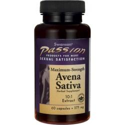 SWANSON Avena Sativa Extract 575mg 60 kaps