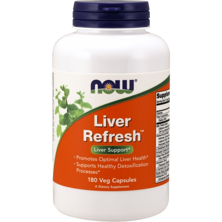 NOW FOODS Liver Refresh 180 weg.kaps.