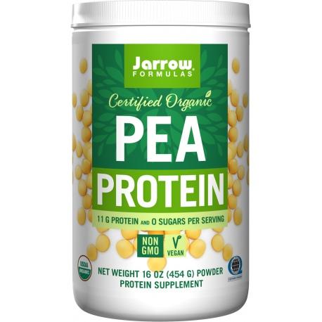 JARROW FORMULAS Organic Pea Protein (białko z grochu) 454g