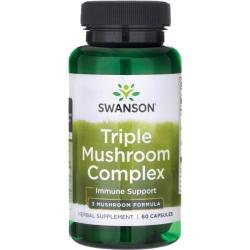 SWANSON High Triple Mushroom Complex 60 caps.