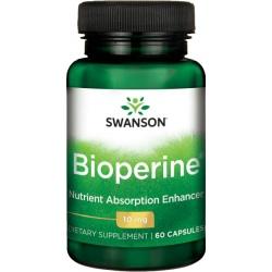 SWANSON Bioperine 10mg 60caps.