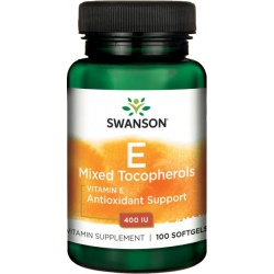 SWANSON Witamina E Mixed Tocopherols 100 kaps.
