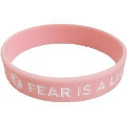 STREFA MOCY Opaska Fear is a Liar Różowa