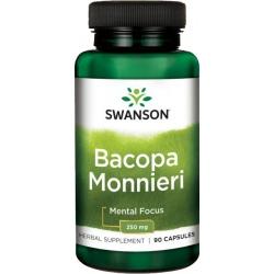 SWANSON Bacopa Monnieri Extract 250mg 90 kaps.