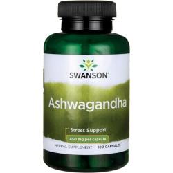 SWANSON Ashwagandha 450 mg 100 kaps.