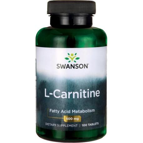 SWANSON L - Karnityna 500 mg 100 tabl.