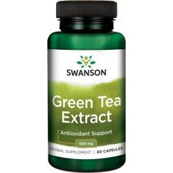 SWANSON Green Tea Extract 500 mg 60 kaps.