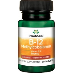 SWANSON Methylcobalamin 2,5 mg 60 tabl.