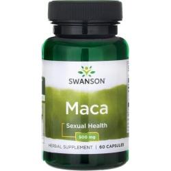 SWANSON MACA Root Extract 500mg 60 kaps.