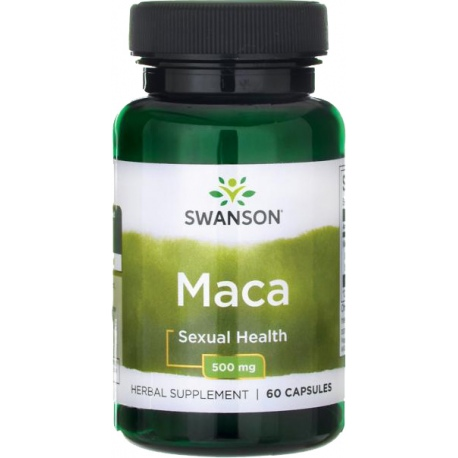 SWANSON MACA Root Extract 500mg 60 caps.