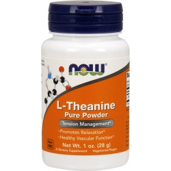 NOW FOODS L-theanine 28g