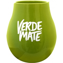 Tykwa ceramiczna Zielona Verde Mate