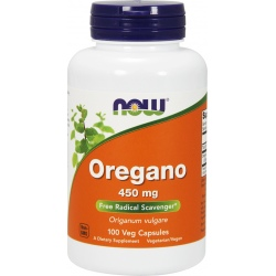 NOW FOODS Oregano 450mg 100 weg.kaps.