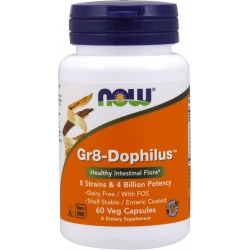 NOW FOODS Gr8 Dophilus 60 weg.kaps.