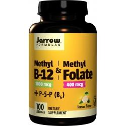 JARROW FORMULAS Methyl B-12 & Methyl Folate + B6 100 lozenges