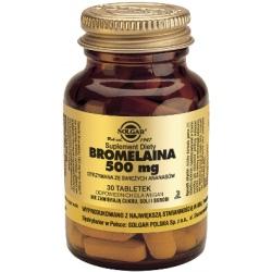 SOLGAR Bromelaina 500mg 30 tab.