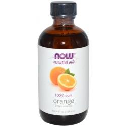 NOW FOODS Essential Oil 118ml Orange Pure