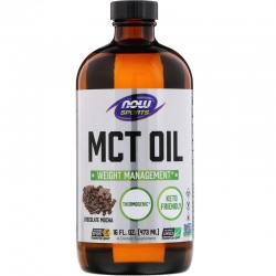 NOW FOODS MCT Oil Chocolate Mocha 473ml