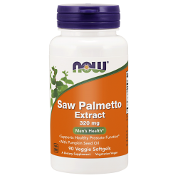 NOW FOODS Saw Palmetto Extract 90 vgels.